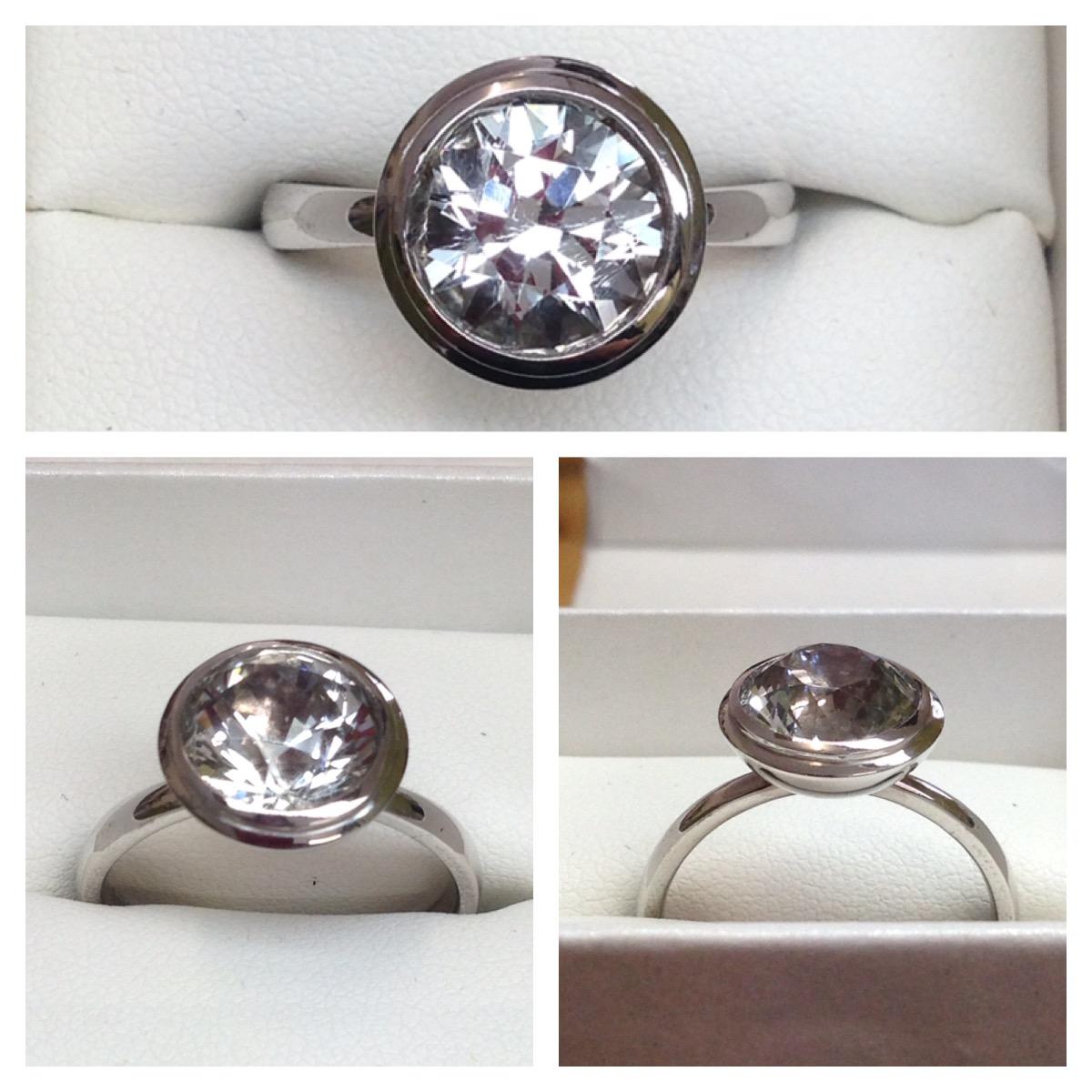 Killiecrankie Diamond Ring made by Lanique Design